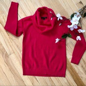 Banana Republic cowl neck turtleneck sweater